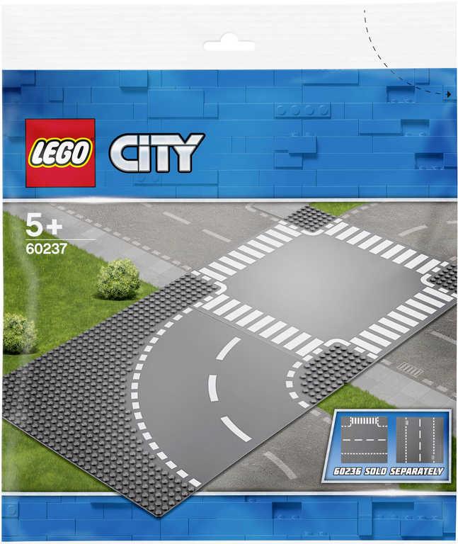 LEGO CITY Zatáčka s křižovatkou 60237 STAVEBNICE