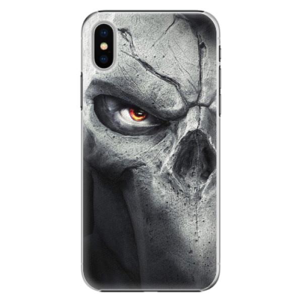 Plastové pouzdro iSaprio - Horror - iPhone X
