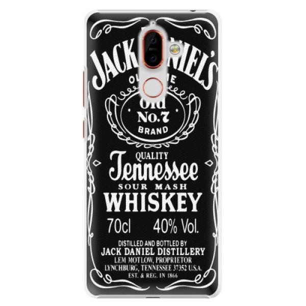 Plastové pouzdro iSaprio - Jack Daniels - Nokia 7 Plus