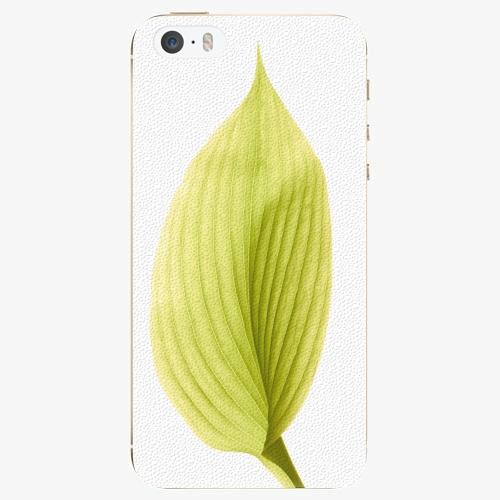 Plastový kryt iSaprio - Green Leaf - iPhone 5/5S/SE