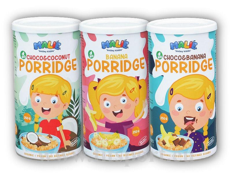 Malie Porridge BIO 250g Ovesná