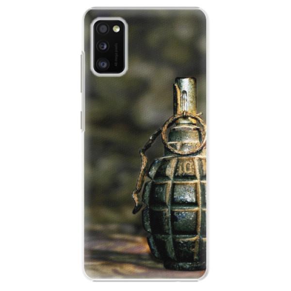 Plastové pouzdro iSaprio - Grenade - Samsung Galaxy A41