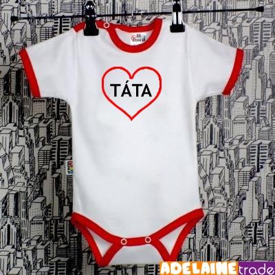 Bavlněné body I LOVE TATA
