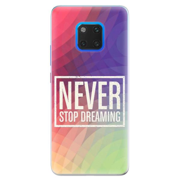 Silikonové pouzdro iSaprio - Dreaming - Huawei Mate 20 Pro