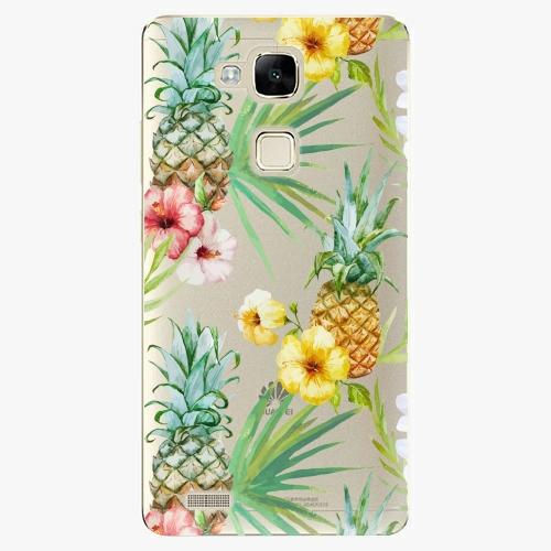 Plastový kryt iSaprio - Pineapple Pattern 02 - Huawei Mate7