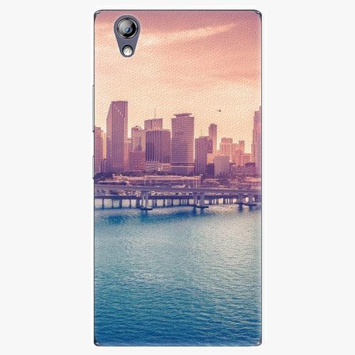 Plastový kryt iSaprio - Morning in a City - Lenovo P70