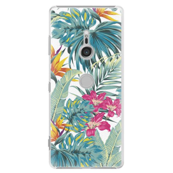 Plastové pouzdro iSaprio - Tropical White 03 - Sony Xperia XZ3