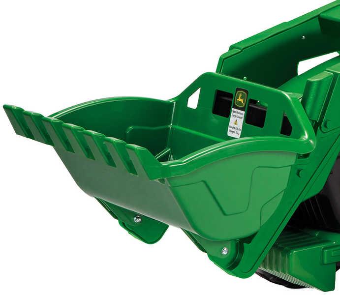 PEG PÉREGO Traktor John Deer Ground Loader 12V 2 motory ELEKTRICKÁ VOZÍTKA
