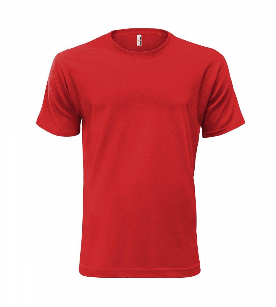 Tričko Heavy červené