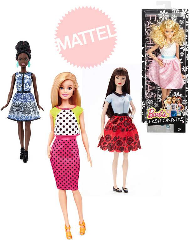 MATTEL BRB Barbie panenka světová modelka trendy obleček 22 druhů