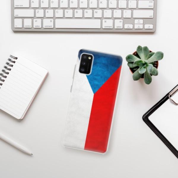 Plastové pouzdro iSaprio - Czech Flag - Samsung Galaxy A41