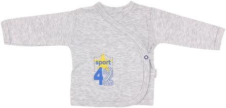 Košilka Four - zapínání bokem - 56 (1-2m)