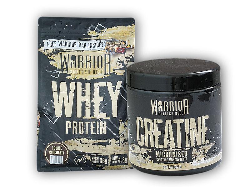 Whey Protein 1kg + Creatine 300g