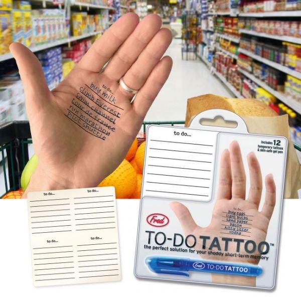 Úkolníček s tetováním