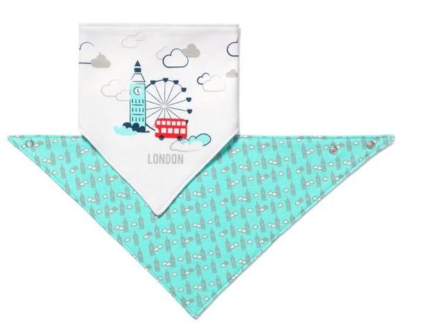 Dětský bryndáček/šátek Baby Ono - London