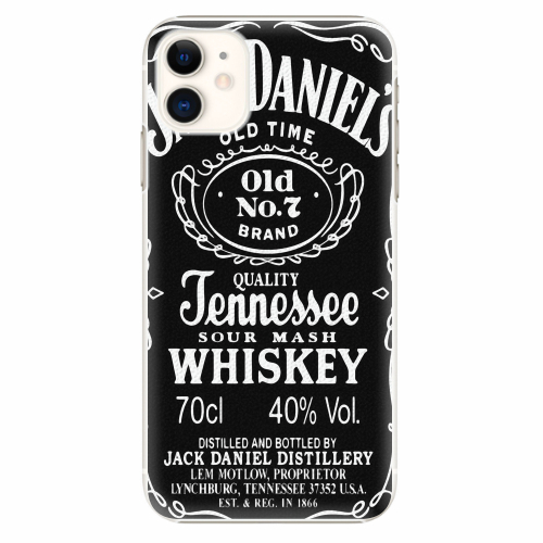 Plastový kryt iSaprio - Jack Daniels - iPhone 11