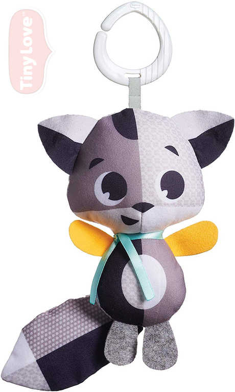 TINY LOVE Baby lišák textilní Christopher 33cm s klipem pro miminko