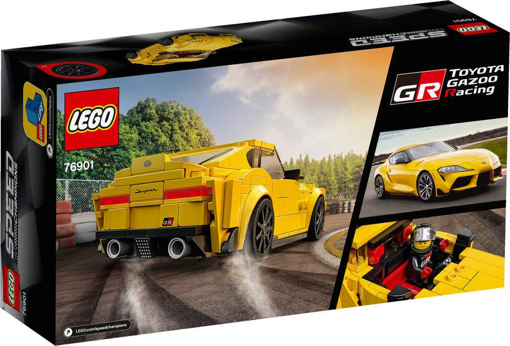 LEGO SPEED CHAMPIONS Auto Toyota GR Supra 76901 STAVEBNICE