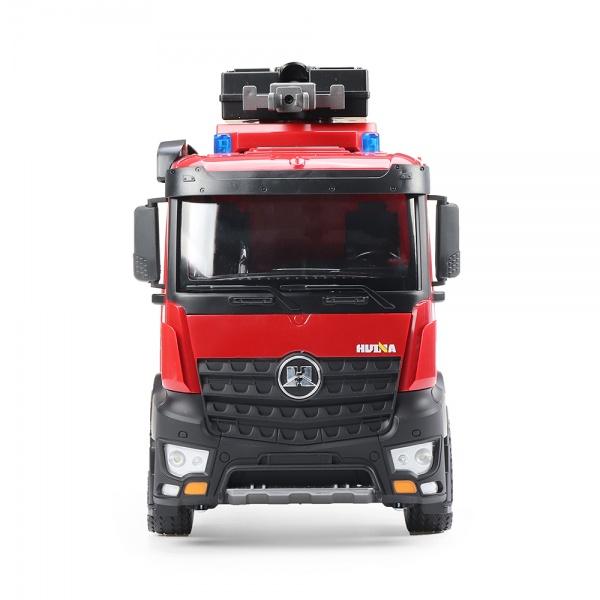 Mercedes-Benz Arocs HASIČI 1:14, s funkční stříkačkou, proporcionální, LED, zvuky, RTR