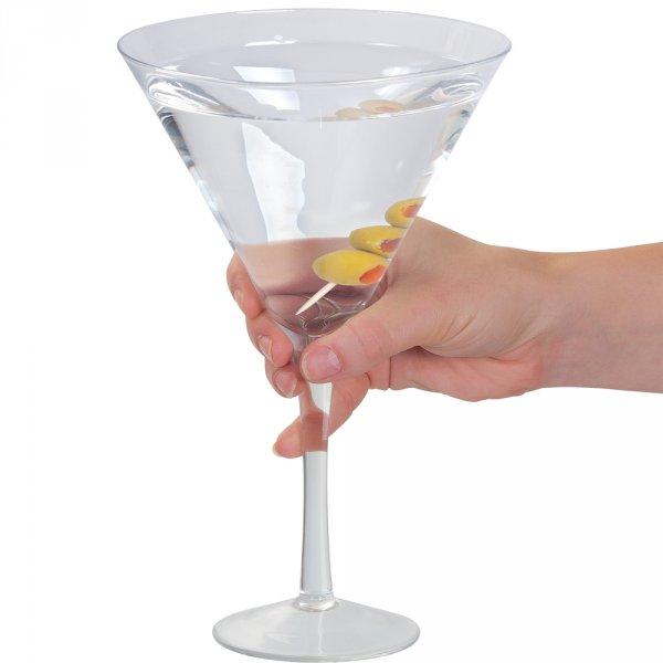 Obří Martini sklenice