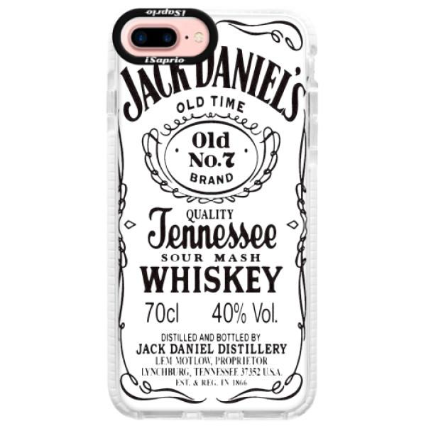 Silikonové pouzdro Bumper iSaprio - Jack White - iPhone 7 Plus
