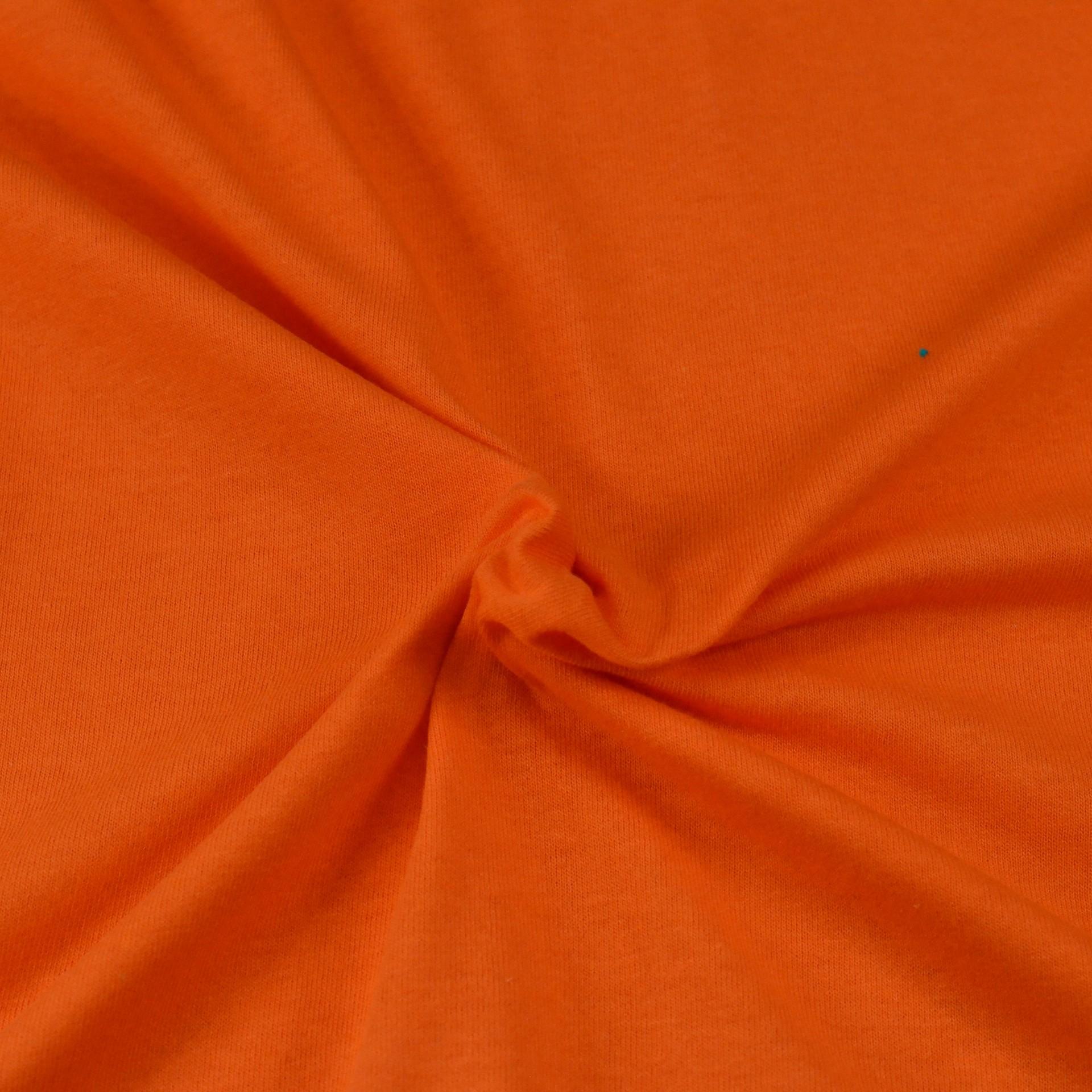 Jersey prostěradlo oranžové, Výběr rozměru - 140x200cm