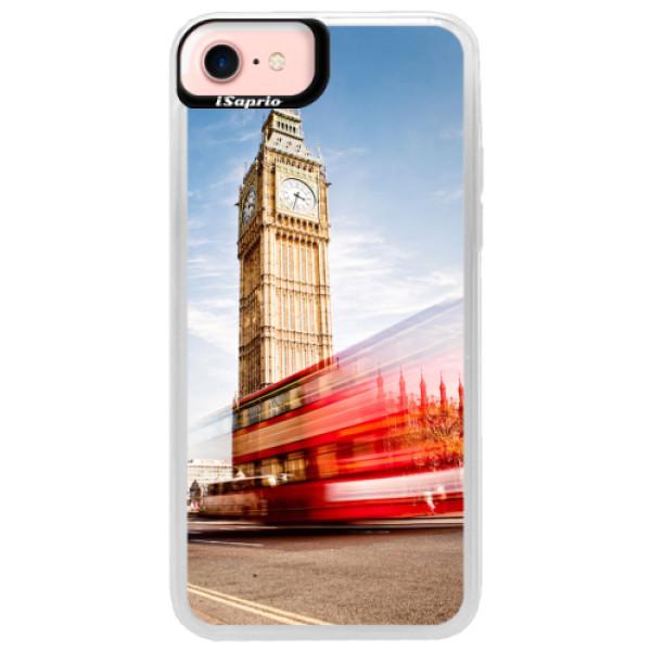 Neonové pouzdro Pink iSaprio - London 01 - iPhone 7