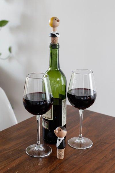 Zátka na víno - číšníci