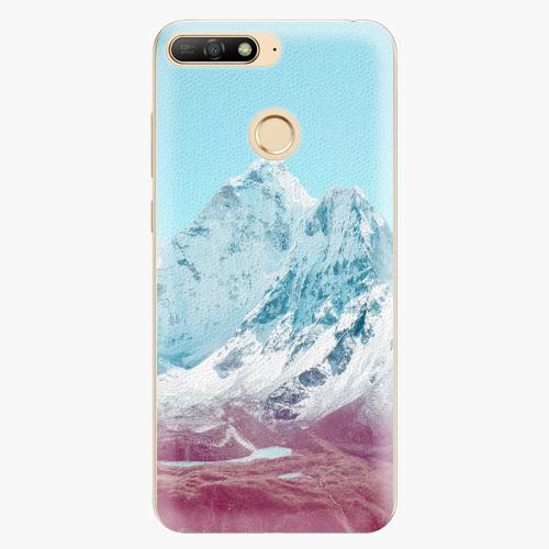 Silikonové pouzdro iSaprio - Highest Mountains 01 - Huawei Y6 Prime 2018