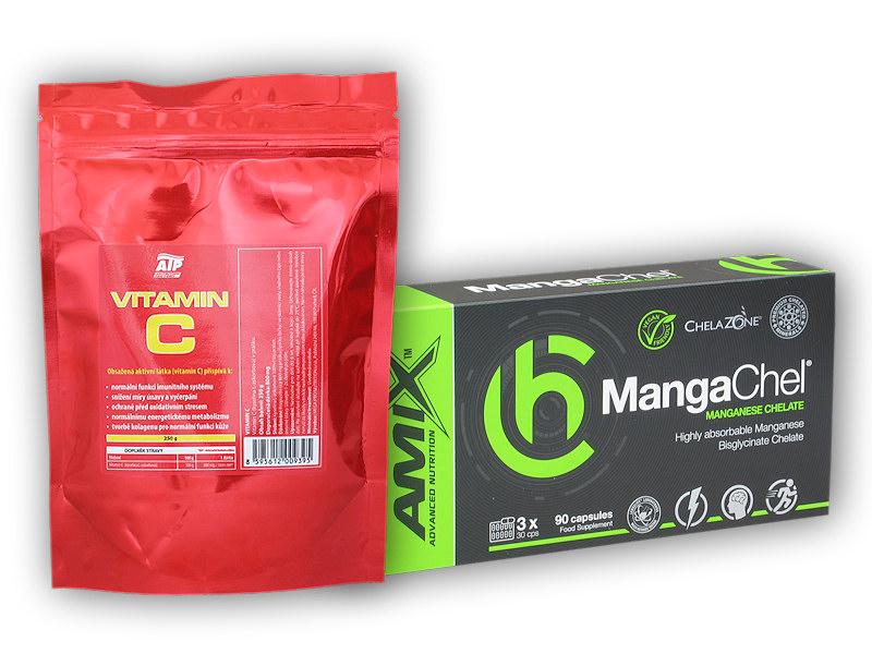 MangaChel 90 Vcps + Vitamin C 250g