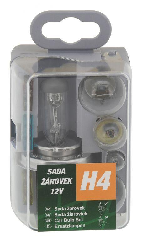 Univerzální servisní box se žárovkami H4 GREEN