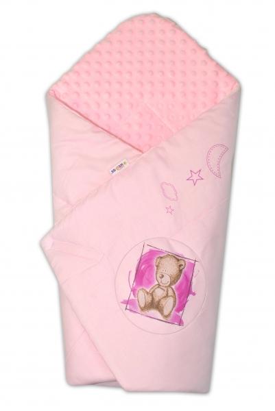 baby-nellys-zavinovacka-bavlnena-s-minky-75x75cm-by-teddy-sv-ruzova-sv-ruzova