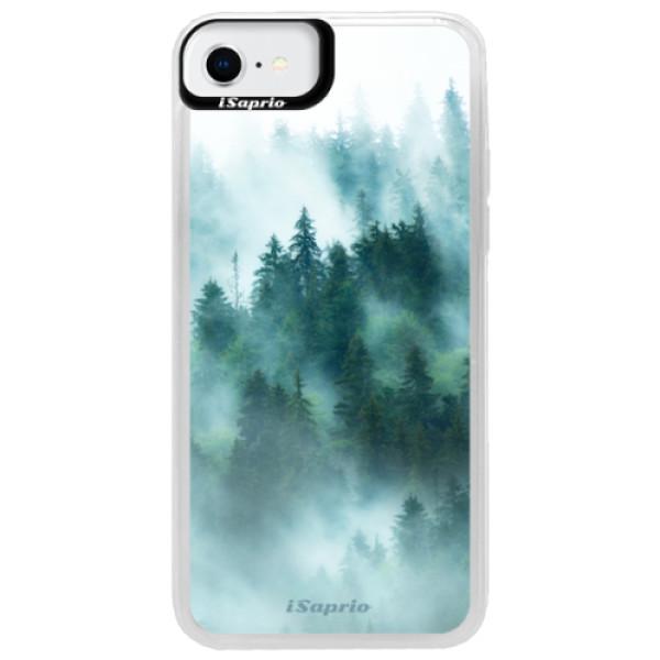 Neonové pouzdro Blue iSaprio - Forrest 08 - iPhone SE 2020