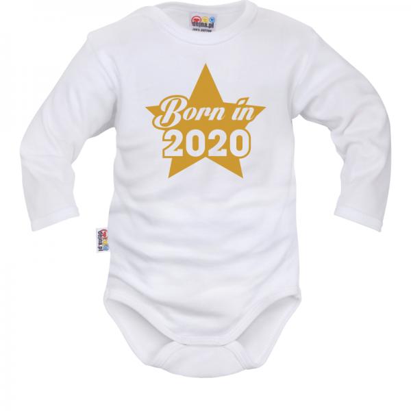 DEJNA Body dlouhý rukáv Born in 2020