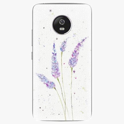 Plastový kryt iSaprio - Lavender - Lenovo Moto G5