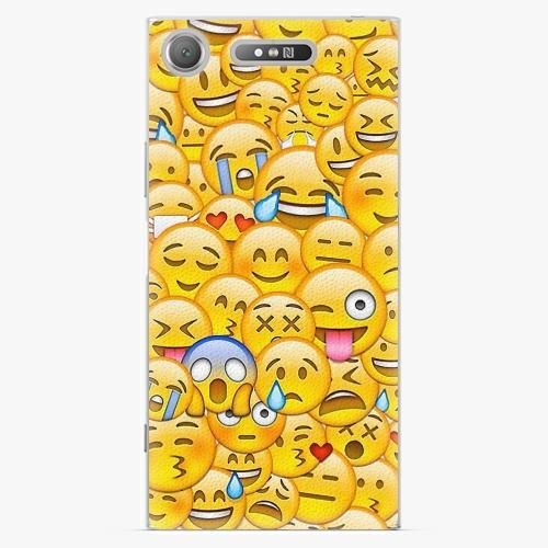 Plastový kryt iSaprio - Emoji - Sony Xperia XZ1