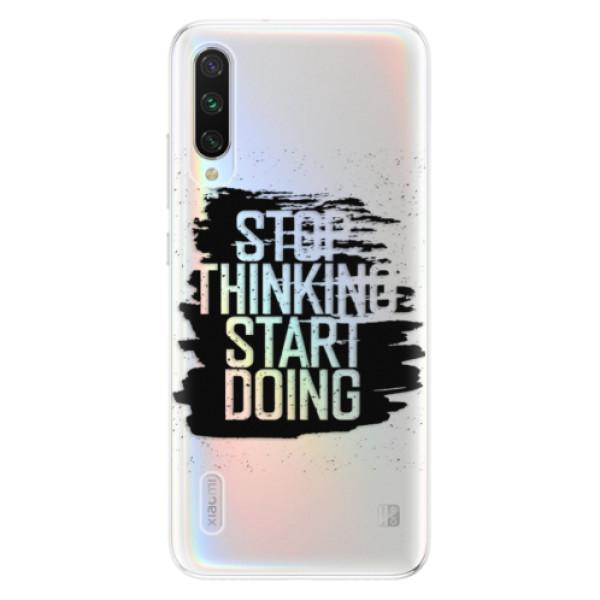 Odolné silikonové pouzdro iSaprio - Start Doing - black - Xiaomi Mi A3