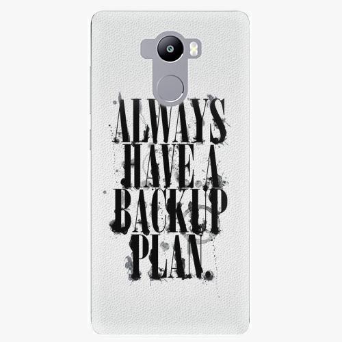 Plastový kryt iSaprio - Backup Plan - Xiaomi Redmi 4 / 4 PRO / 4 PRIME