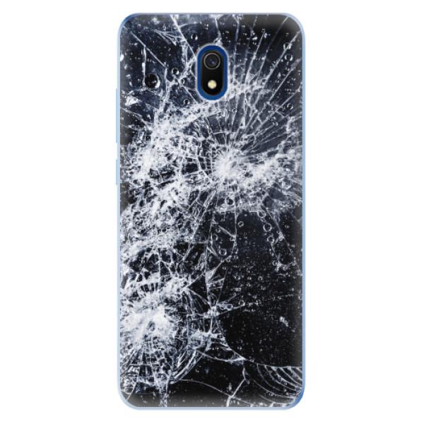 Odolné silikonové pouzdro iSaprio - Cracked - Xiaomi Redmi 8A