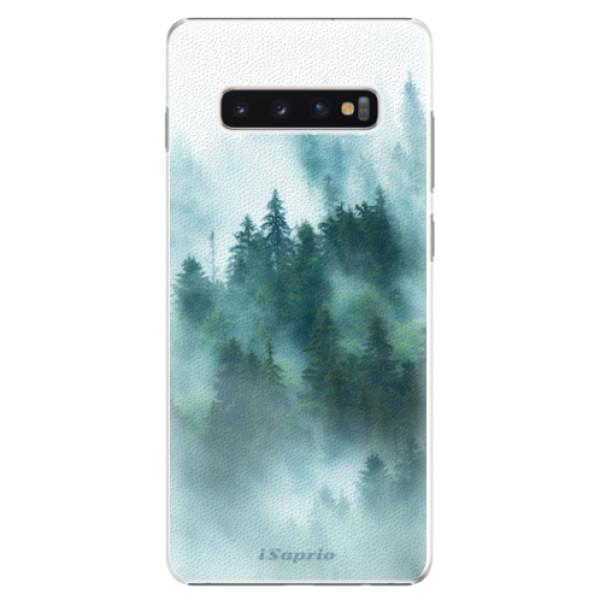 Plastové pouzdro iSaprio - Forrest 08 - Samsung Galaxy S10+