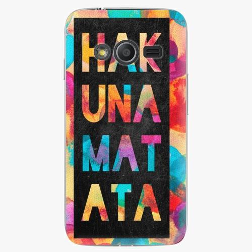 Plastový kryt iSaprio - Hakuna Matata 01 - Samsung Galaxy Trend 2 Lite