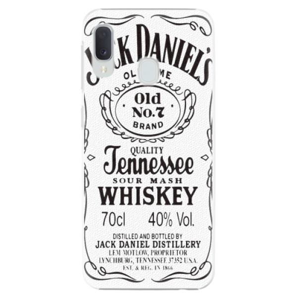Plastové pouzdro iSaprio - Jack White - Samsung Galaxy A20e