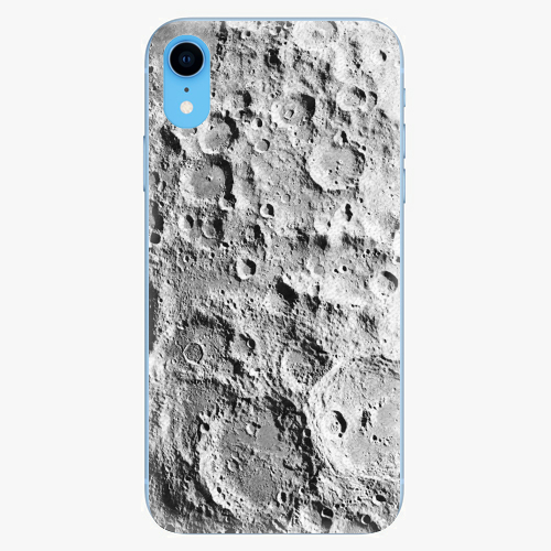 Silikonové pouzdro iSaprio - Moon Surface - iPhone XR