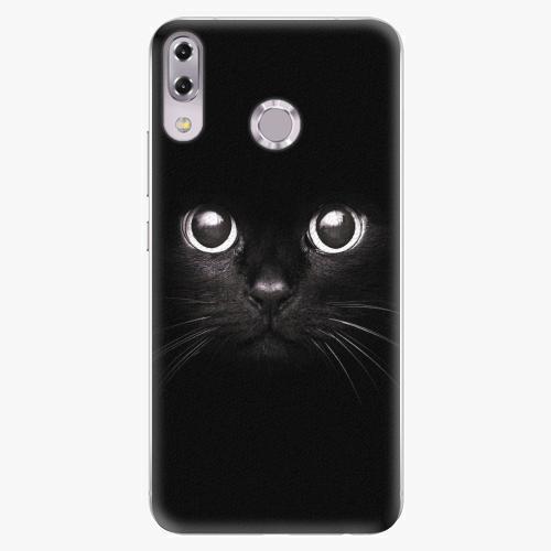 Plastový kryt iSaprio - Black Cat - Asus ZenFone 5Z ZS620KL