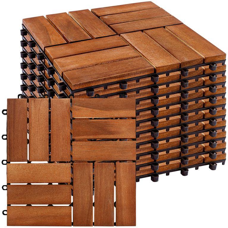 STILISTA dřevěné dlaždice, mozaika 3, akát, 1 m²