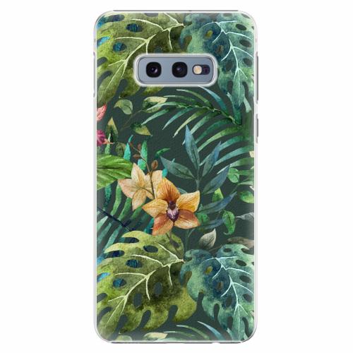 Plastový kryt iSaprio - Tropical Green 02 - Samsung Galaxy S10e