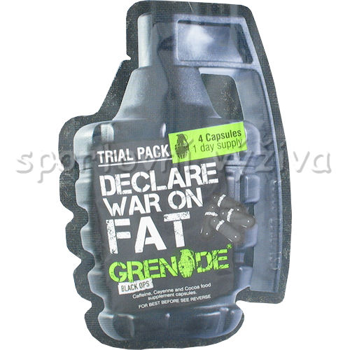 Grenade Black OPS blistr 4 kapsle AKCE