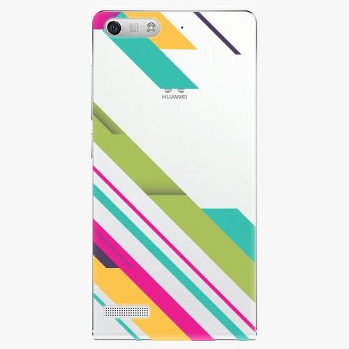 Plastový kryt iSaprio - Color Stripes 03 - Huawei Ascend G6