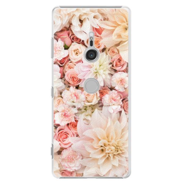 Plastové pouzdro iSaprio - Flower Pattern 06 - Sony Xperia XZ3