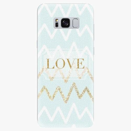Plastový kryt iSaprio - Gold Love - Samsung Galaxy S8 Plus